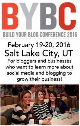 Join Us At Build Your Blog Conference 2016 (and a discount code!)