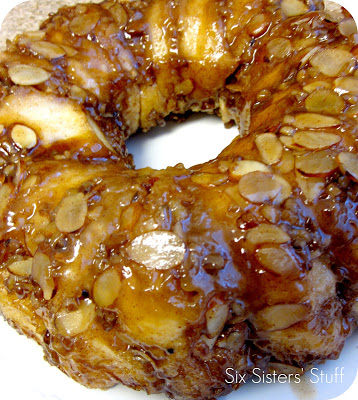 Sticky Bun Breakfast Ring Recipe