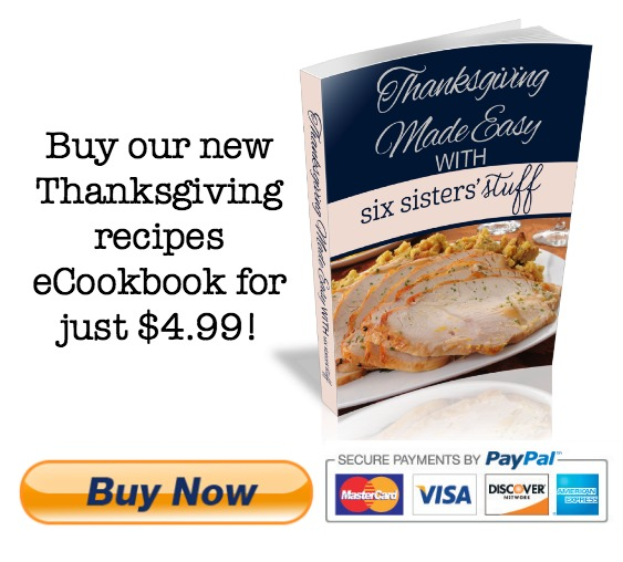 Thanksgiving eCookbook - buy now