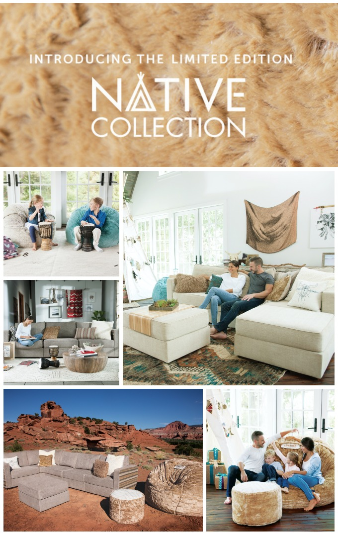 Lovesac Limited Edition Native Collection & Black Friday Sale