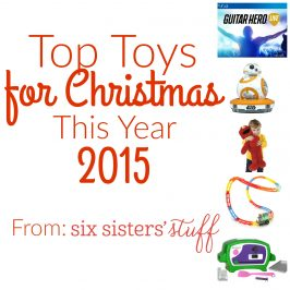 The Top Toys for Christmas 2015