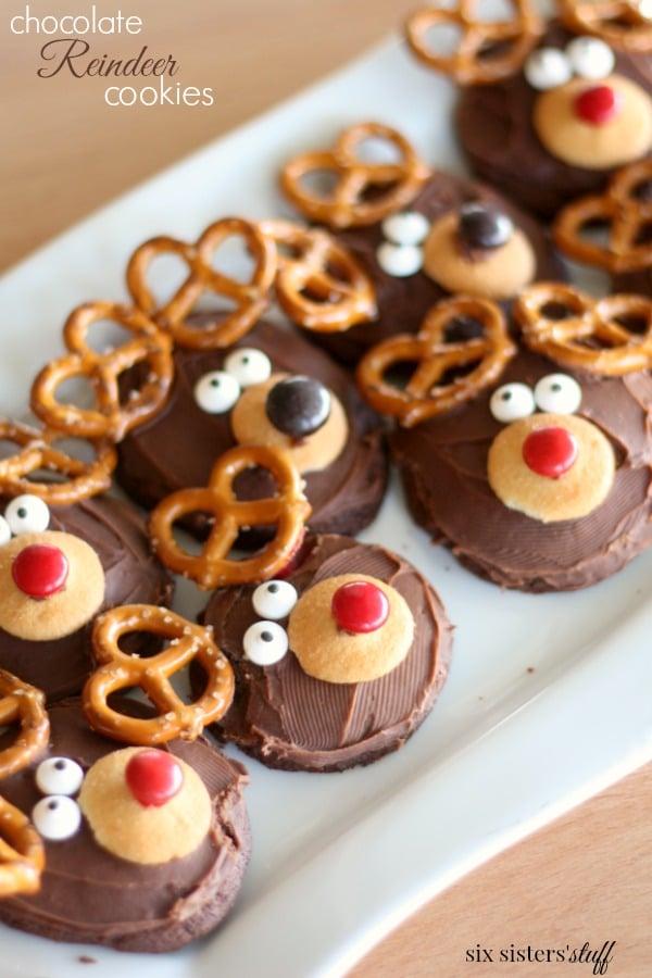 Chocolate Reindeer Cookies Recipe
