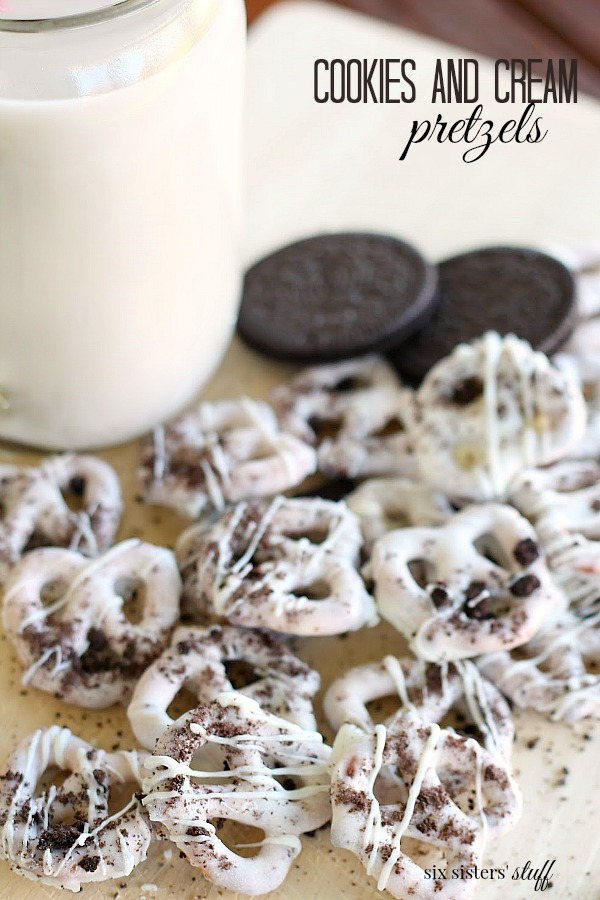 Cookies and Cream Pretzels