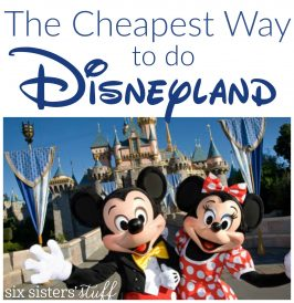 The Cheapest Way to do Disneyland!