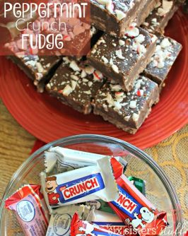 Peppermint Crunch Fudge Recipe
