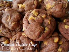 Peanut Butter Cup Pudding Cookies Recipe