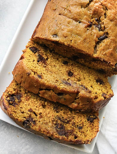 The BEST Pumpkin Chocolate Chip Bread Recipe