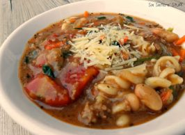 Quick Italian Turkey Soup Recipe