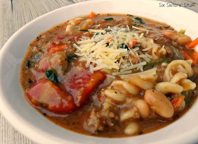 Quick Italian Turkey Soup Recipe