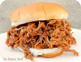 Slow Cooker Smoky BBQ Pulled Pork Sandwiches (and CouponLynx magazine winner!)