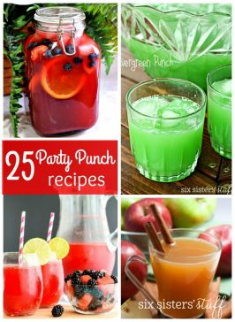25 Party Drink Recipes