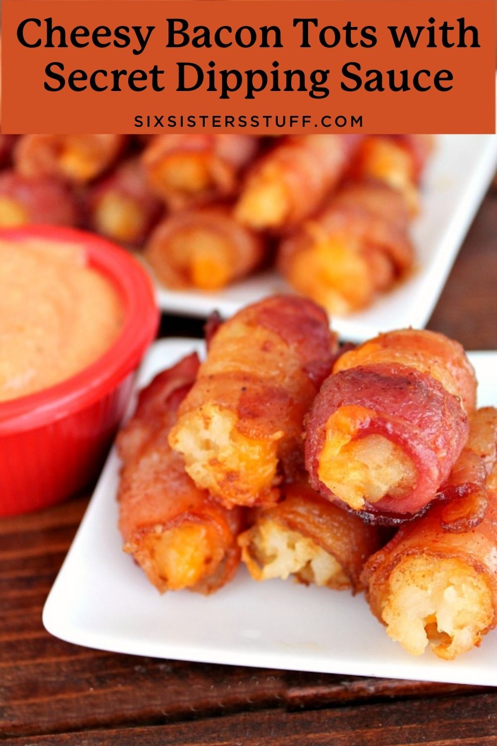 Cheesy Bacon Tots with Secret Dipping Sauce Recipe