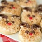 Christmas Reindeer Sugar Cookies from SixSistersStuff.com