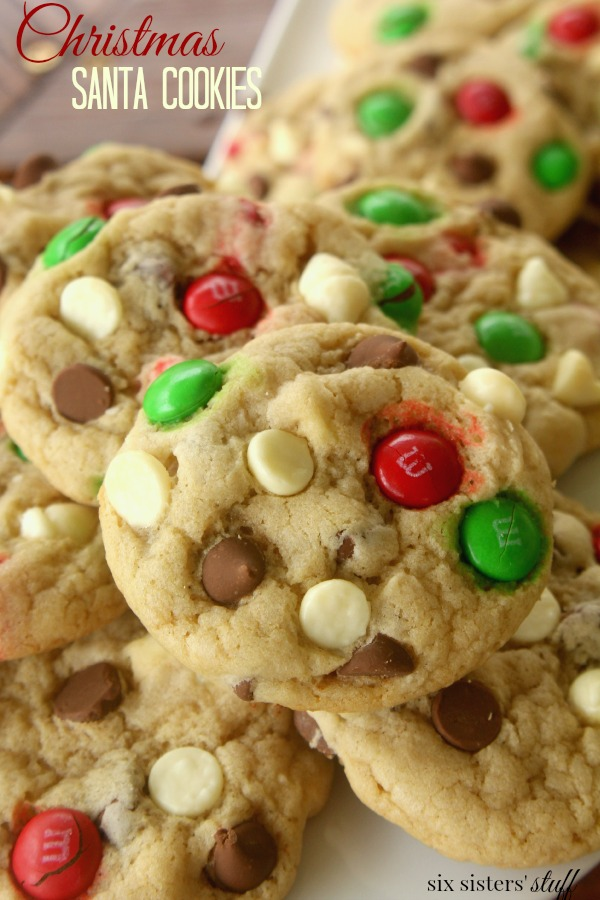 they are the best chewy and soft cookies with so much delicious flavor the bright holiday colors add the most perfect touch you will love these