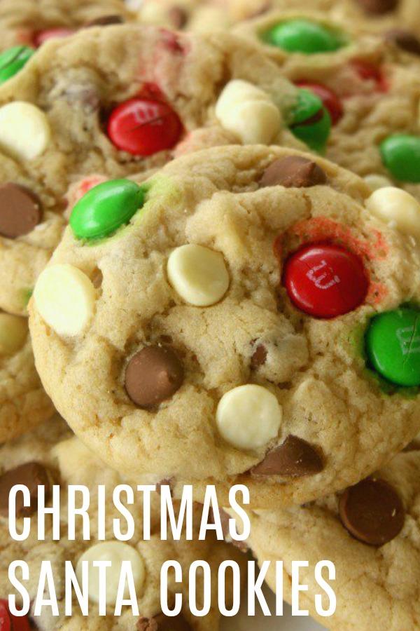Christmas Santa Cookies