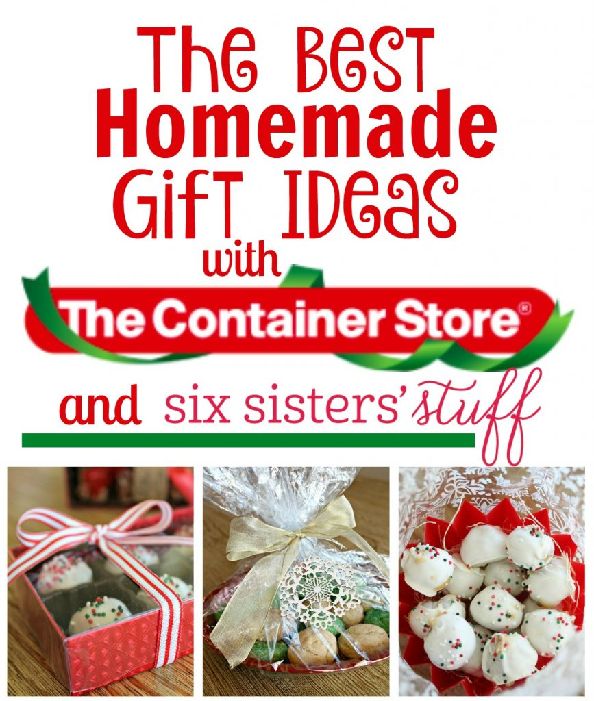 The Best Homemade Neighbor Gifts Ideas | Six Sisters\' Stuff