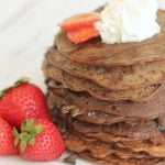 Double Chocolate Chip Pancakes from Six Sisters' Stuff