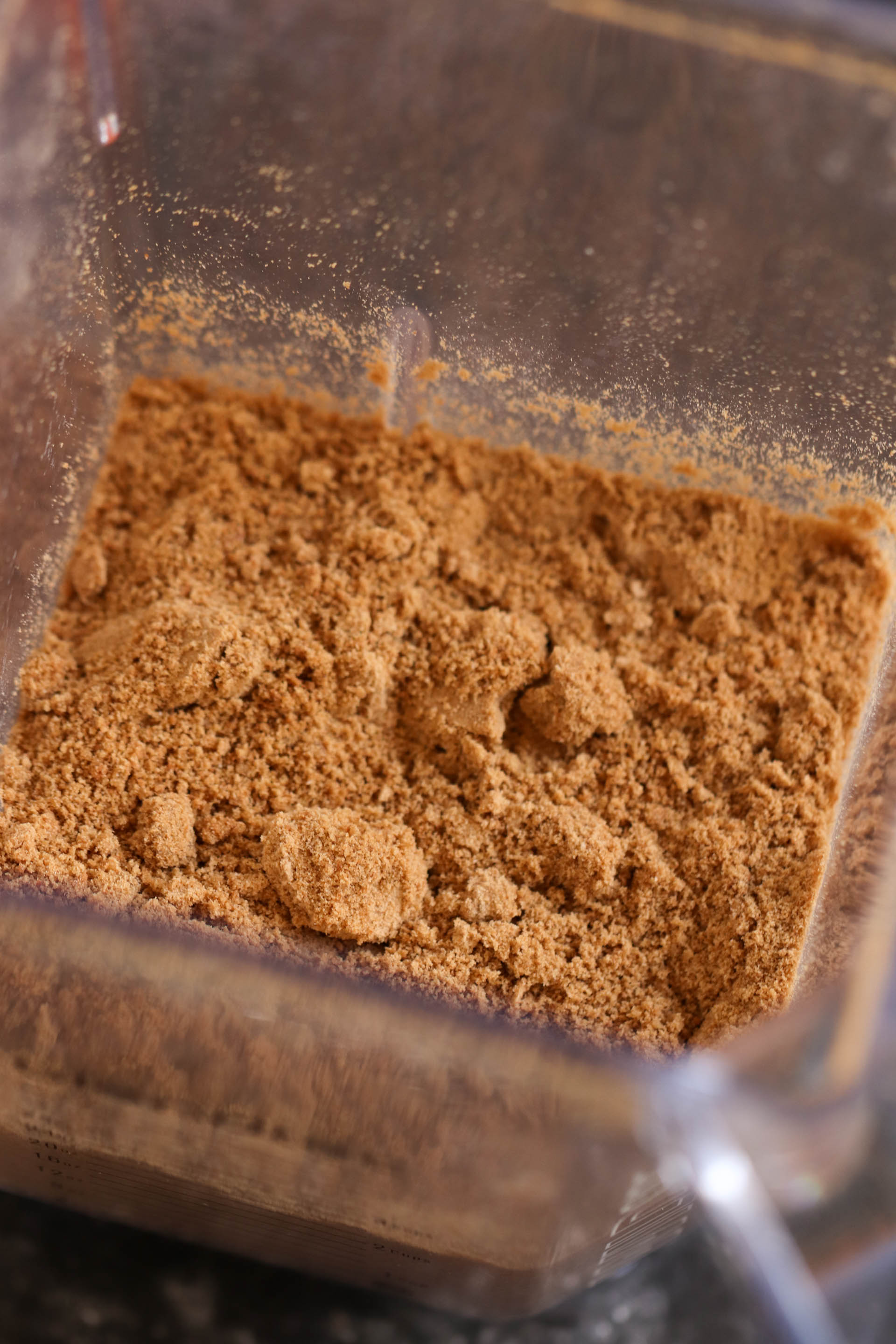 finely ground gingersnap cookies
