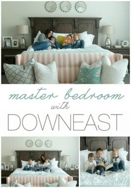 Master Bedroom Reveal with DownEast Home
