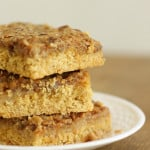 Toffee Pecan Bars from Six Sisters' Stuff