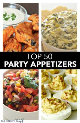 Top 50 Party Appetizers