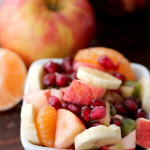 Winter Fruit Salad from Six Sisters' Stuff