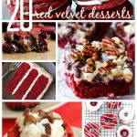 20 Red Velvet Desserts from Six Sisters' Stuff