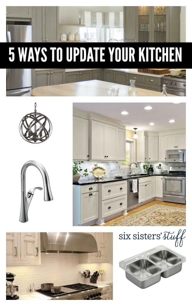 5 Ways To Update Your Kitchen This Year