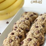 Banana Oatmeal Cookies on SixSistersStuff