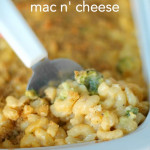 Broccoli Mac n' Cheese from SixSistersStuff.com
