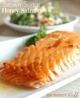 Brown Sugar Honey Salmon