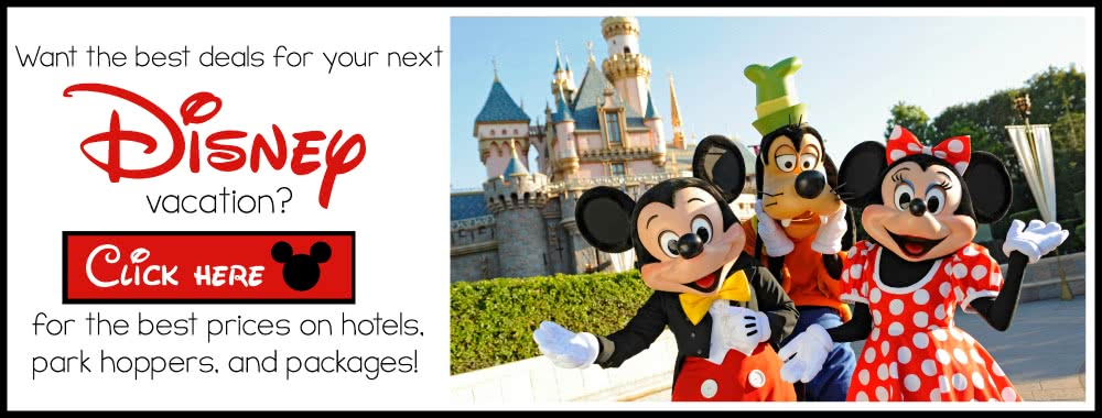 Disneyland Vacation Deals on SixSistersStuff