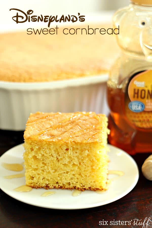 Disneyland's Sweet Cornbread Recipe