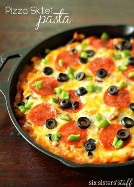 Pizza Skillet Pasta