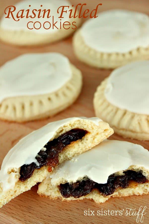 Raisin Filled Cookies