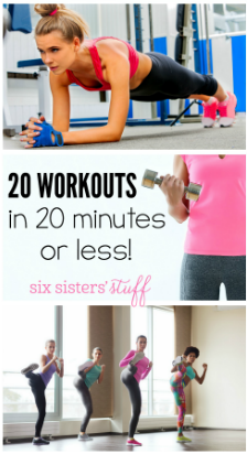 20 of the Best 20 Minute Workouts