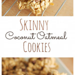 Skinny Coconut Oatmeal Collage