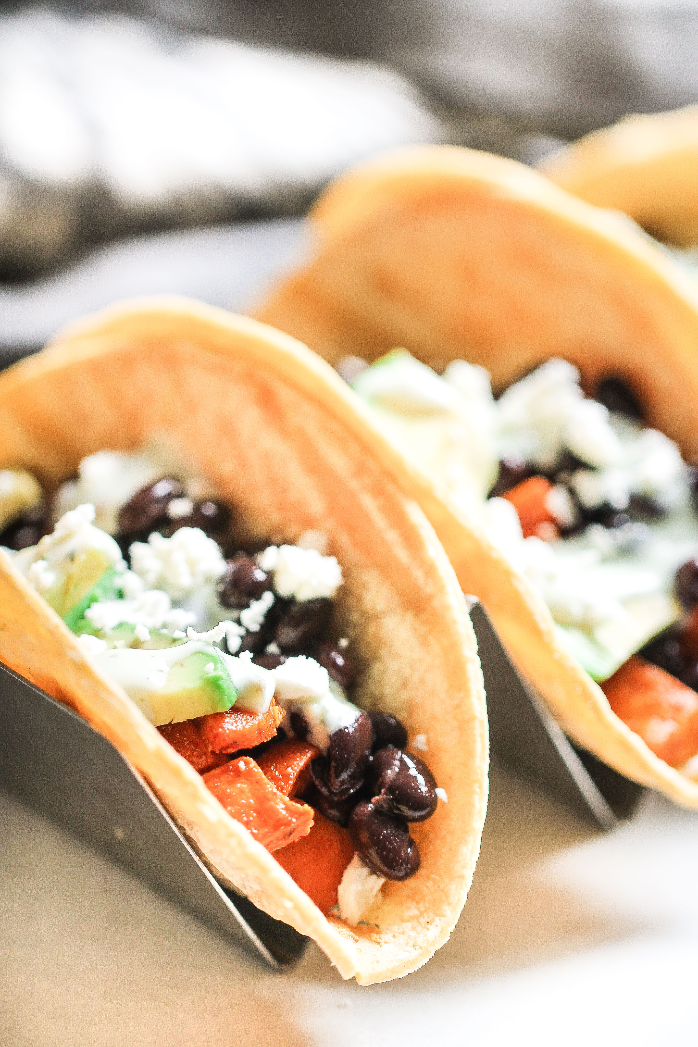Black Bean Sweet Potato Tacos Recipe
