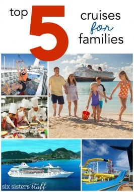 The Top 5 Cruise Lines and Destinations for Families