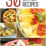 30 Easy Dinner Recipes from SixSistersStuff.com