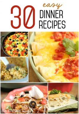 30 Easy Dinner Recipes
