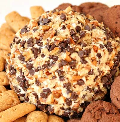 Chocolate Chip Cheese Ball 2