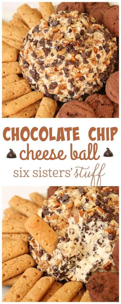 Chocolate Chip Cheese Ball 3
