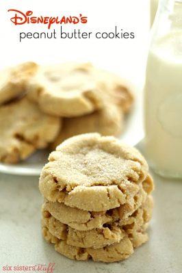 Disneyland's Peanut Butter Cookies