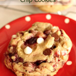 Disneyland's Raspberry White Chocolate Chip Cookies 2