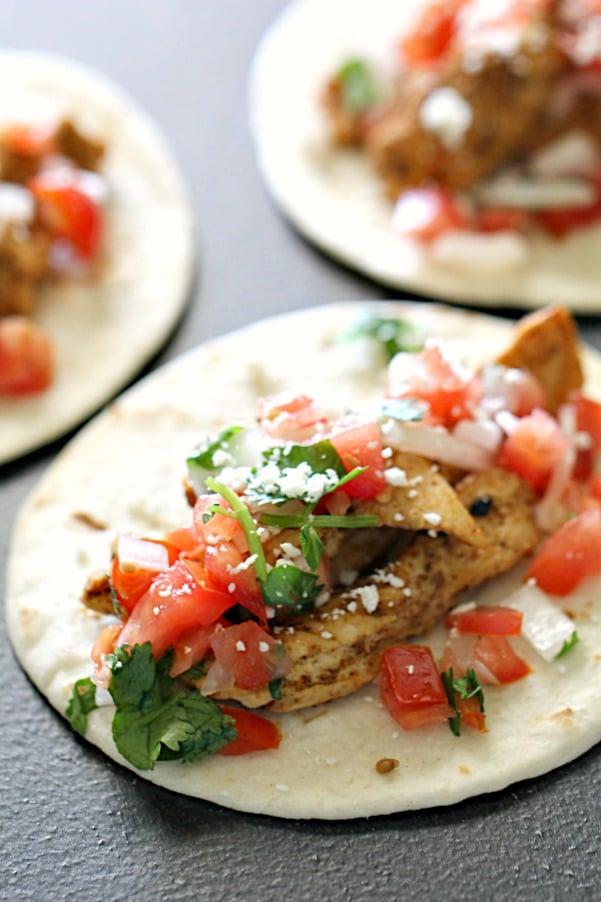 Street Tacos Recipe Seasoned Chicken