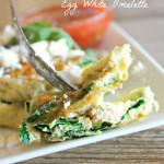 Egg White omelette 2
