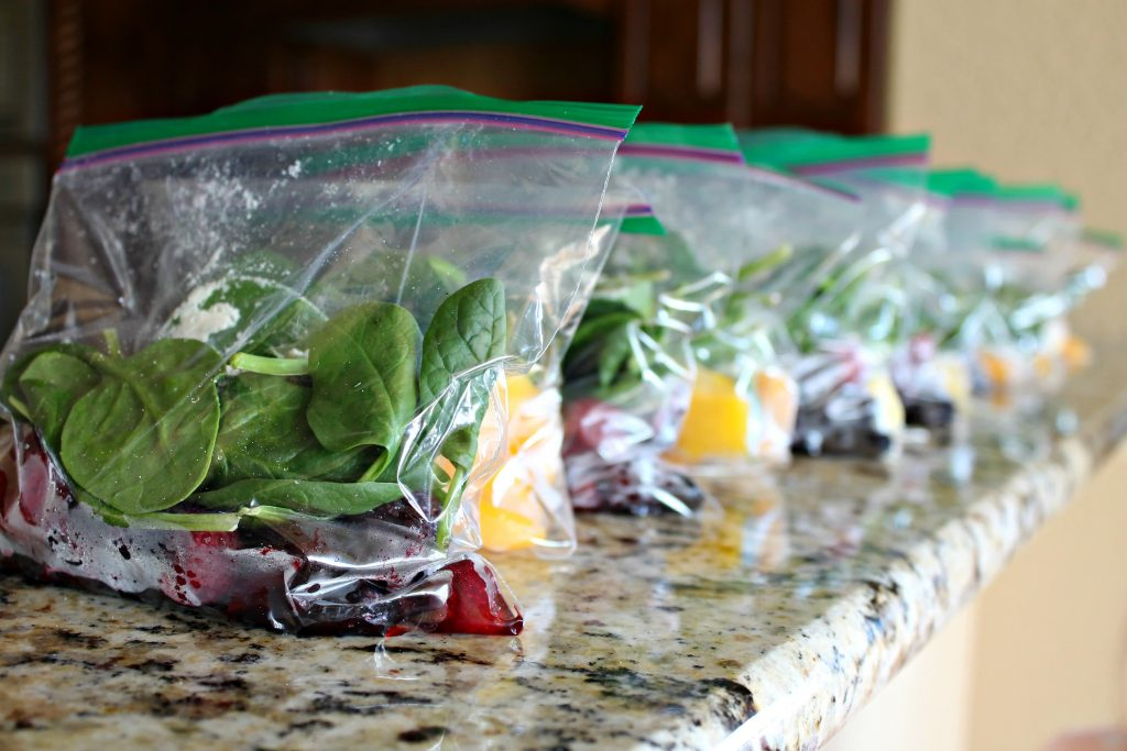 Freezer Meal Smoothies 1