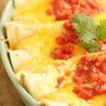 Ground Beef Enchiladas on Six Sisters' Stuff