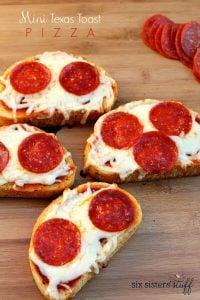 MiniTexas Pizza